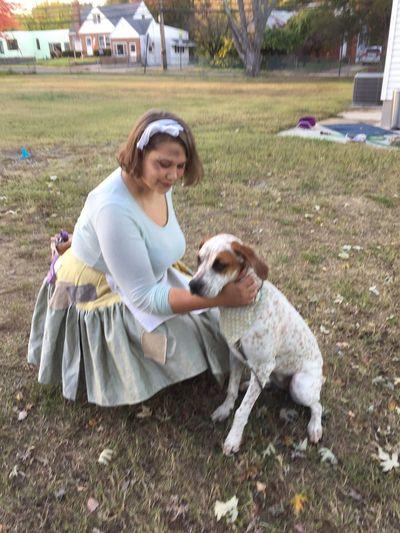 Cinderella! Cinderella Hound Fairytale  Princess Gertrude Puppy Dog Halloween Costume Pauper EyeEmNewHere