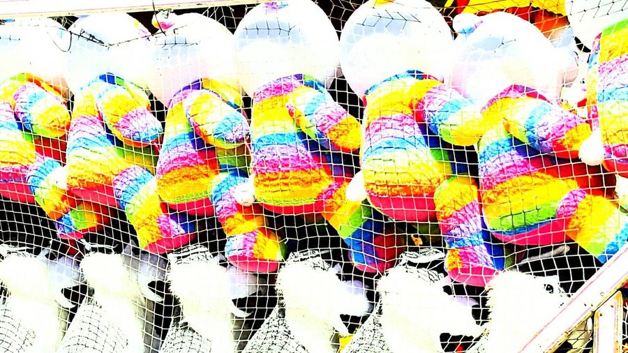 Carnival Prizes Carnival Tonight(; Carnival Toys Hanging Jerry Garcia Bea Large Group Of Objects Rainbow Beach Side By Side Stuffed Animals Teddy Bear Toy Prizes Variation