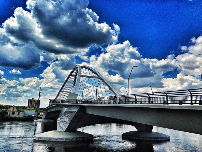 Modern Architecture Bridges Mississippi River NordEast Sky And Clouds Minneapolis Urbanscape Urban Landscape Urban Photography Cityscapes