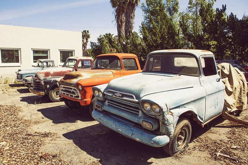 Urban Landscape Cars Vintage Cars California Dreaming Chevy Jalopy Portrait Of America California Open Edit