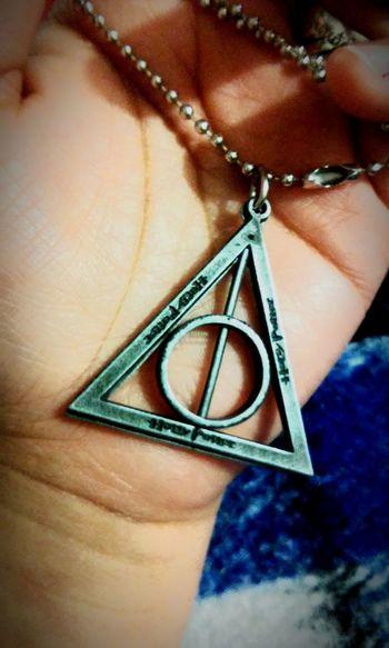 Thedeathlyhallows Harrypotter Necklace Potterhead