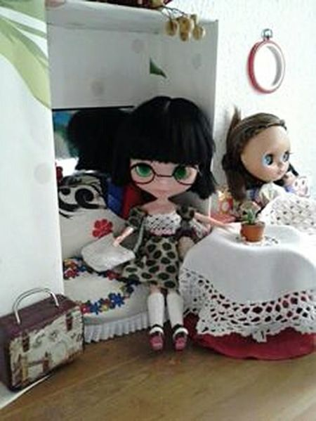 Portrait Style Good Atmosphere Make It Yourself Doll Asian Culture Blythe Doll Life Style Girls Asiangirl Enjoying Life Faces Everywhere I, M WATCHING YOU....