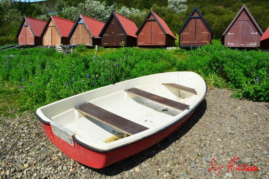 Boats Boathouse Lakes