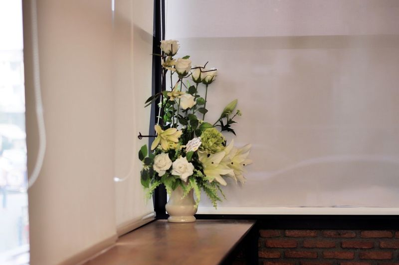 Cabinet Close-up Day Flower Growth Home Interior Home Showcase Interior Indoors  Modern Nature No People Plant Table Vase