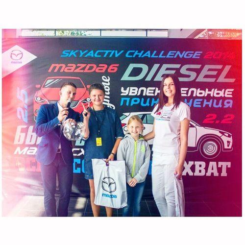 23 августа в ДЦ MAZDA компании «Джейкар» прошли соревнования «SKYACTIV CHALLENGE 2014». SKYACTIV CHALLENGE – всероссийское командное соревнование для владельцев Mazda. SAC2014 Джейкар