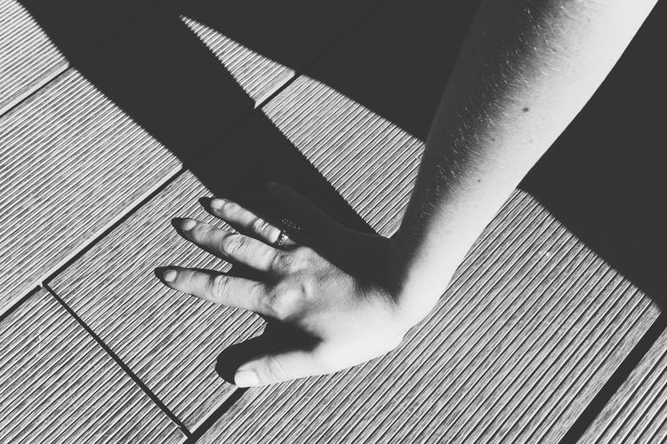 Blackandwhite Castel Close-up Connection Hand Human Finger Lisbon Person Shadow Woman