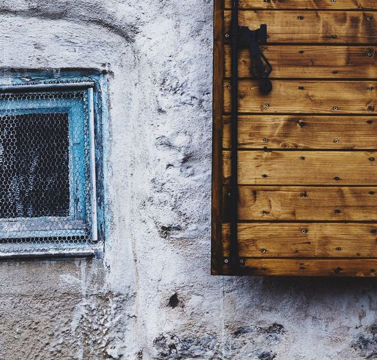 Close-up Architecture Window Outdoors Discovering Wood - Material Blue Mediterranean  Style Côte D'Azur