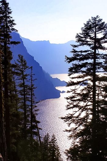 Crescent Lake Tranquility Deepest Lake In The US Breathtaking Oregon Lake