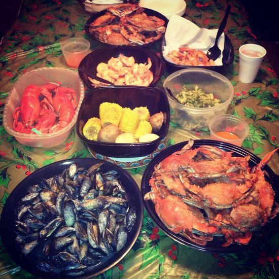 #SeafoodSunday!! Popping!!!