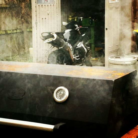 Sport Bikes BBQ Grilling Out