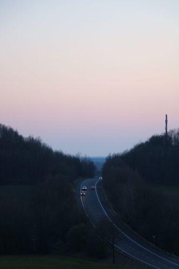 Road Sunset No