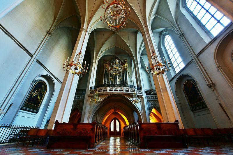 Religious Architecture Church Augustiner Wien Vienna Austria
