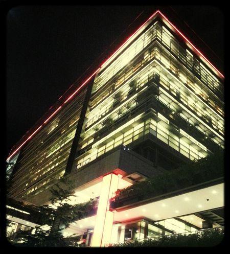 Architecture Taipei At Night Hangout!