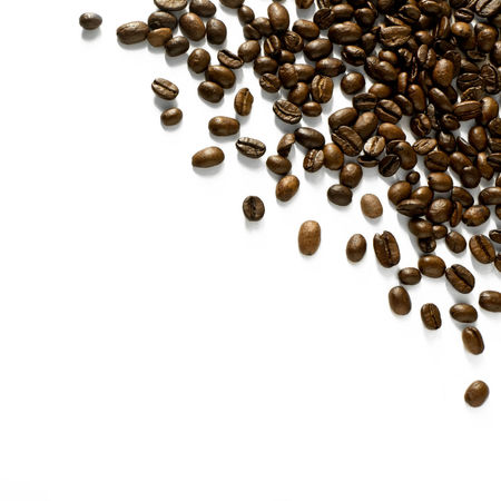 Coffee beans on white background - corner design element Beans Caffeine Coffee Corne EyeEmNewHere EyeEmReady Brown Caffeine Addict Close-up Coffee Bean Coffee Beans Design Element Group Of Objects Large Group Of Objects Minimal Minimalism No People On White Pile Roasted Coffee Bean Scattered Studio Photography Studio Shot White Background