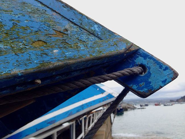 Barca Day No People Outdoors Sky Low Angle View Rusty Nature Close-up Boat Wood Sea