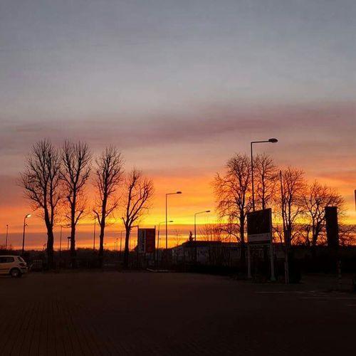 Love To Take Photos ❤ Popular Photos Sky And Clouds Sky The Sunset Łódź, Poland Beautiful Photography City View  in Łódź