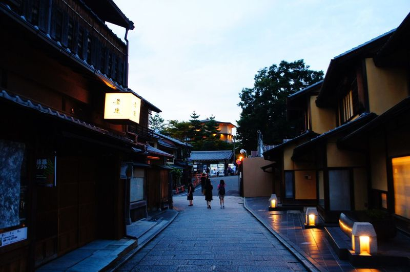 City Street Architecture Tranquility Traditional Architecture Traditional Culture Japan Japanese Culture Lifestyle Lifestyles Kyoto Kyoto Street Afternoon Walking Walking Around Walking On The Street