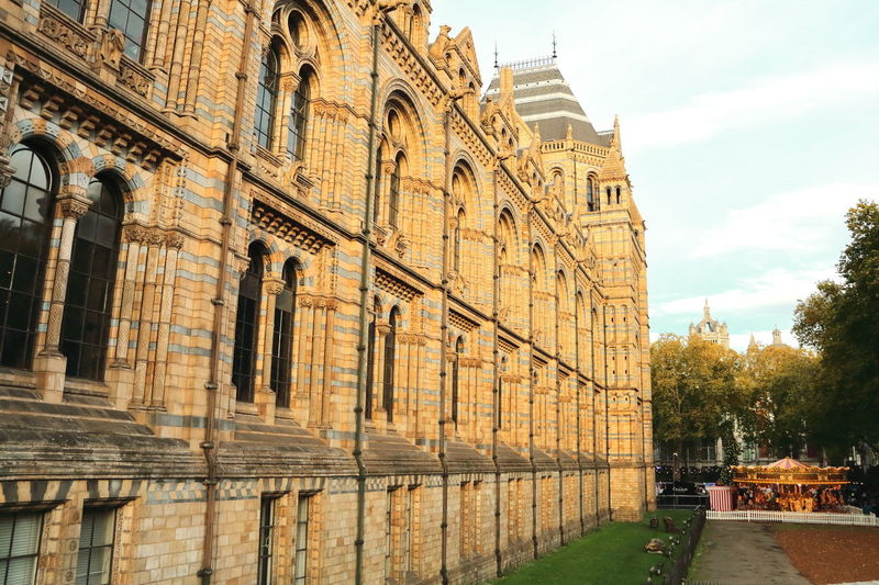 The Natural History Museum looks like a Harry Potter movie Canon EOS 70D Harry Potter London Natural History Museum Architecture Building Exterior Built Structure Canon Photography History Movıe Outdoors Sky Travel Destinations