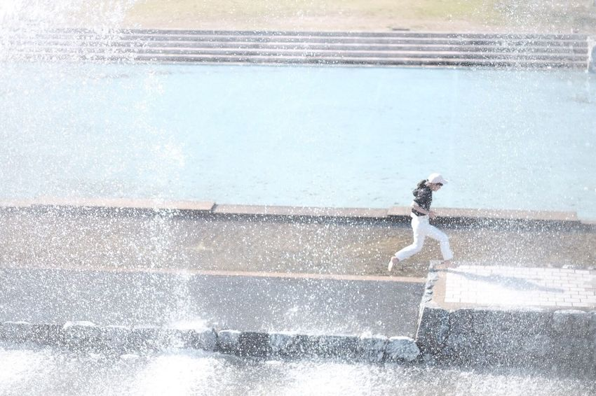 Water One Person Real People Day Outdoors Fujifilm FUJIFILM X-T1 Japan Photography Peace