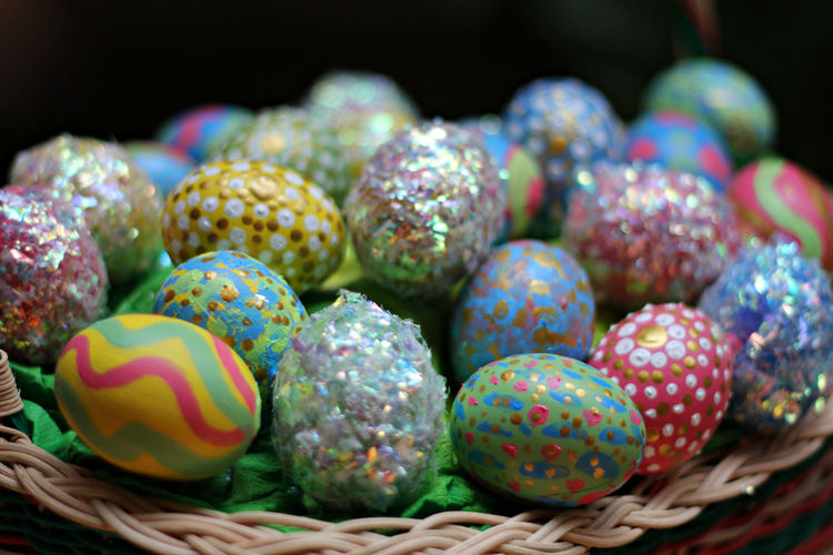 Easter eggs in