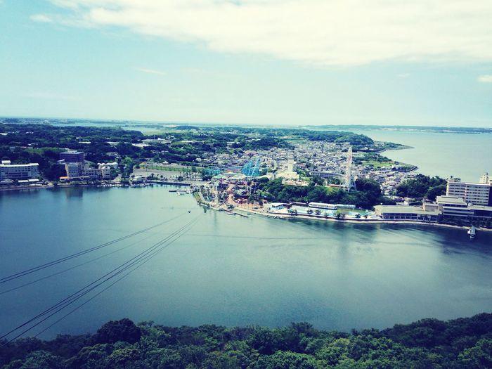 Shizuoka 浜名湖 Japan ロープウェイ