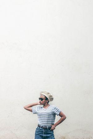 Street Fashion VisualArt  Portrait Canon Teenager Fresh EyeEm Best Shots EyeEm Gallery EyeEm Best Edits Abstract Africa Sun Hat Photography Themes Child Standing City Summer Copy Space Hat Photo Messaging Self Portrait Photography Digital Camera
