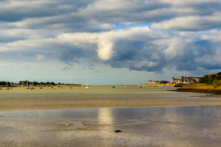 Low tide on the