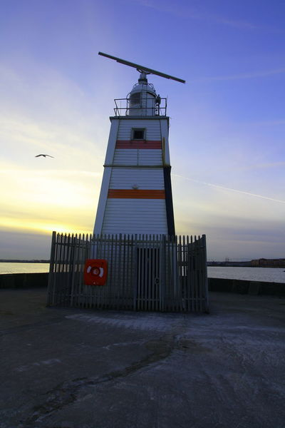 OUT AND ABOUT IN HARTLEPOOL Sky Sunset Sea Guidance Lighthouse Architecture Nature Built Structure Tower Water Security Building Exterior Safety Protection Building Scenics - Nature Cloud - Sky No People Beach Land Horizon Over Water Outdoors