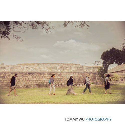 Tourists passing through in Huế Vietnam Travels Cidadel tommywuphotography tourist