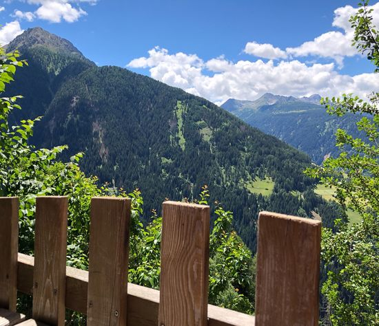 Have a wonderful day, dear friends 💐😀☀️ Ultental South Tyrol Alto Adige Südtirol Italien Italy Mountain Plant Wood - Material Beauty In Nature Sky Barrier Cloud - Sky Day Boundary Nature Scenics - Nature Fence Tranquility Growth Landscape Mountain Range Green Color No People