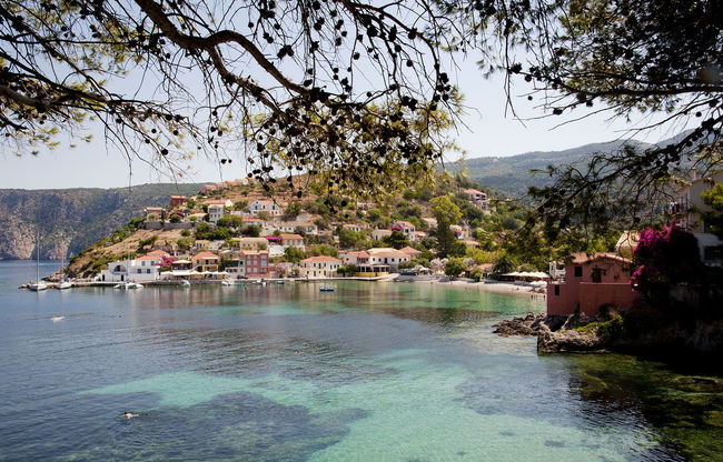 Greek Islands Holiday Nikon Tranquility Travel Architecture Assos Building Exterior Cephalonia Greece Kefalonia Outdoors Travel Destinations Water