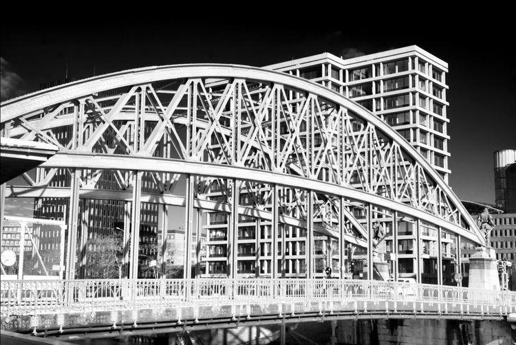 Hamburg and its Bridges Hanseatic City Architecture Bridge Built Structure Connection Engineering Germany Hamburg Steel Bridge