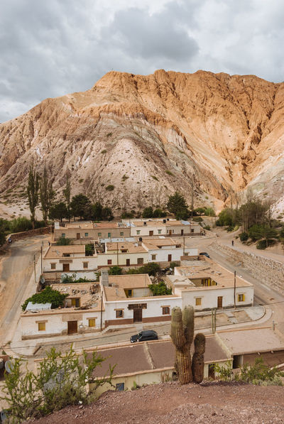 Architecture Argentina Mountain No People Outdoors Purmamarca Streets Tourism Town Tranquility Village