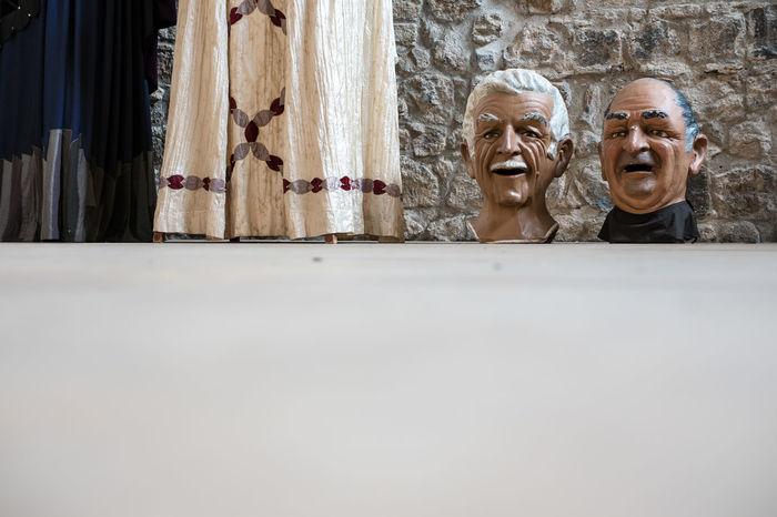 Capgrossos of Castelfollit de la Roca, Girona Capgrossos Gegants Human Representation