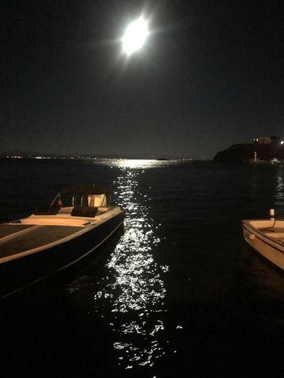 Water Sky Night