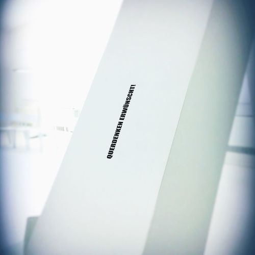 Querdenker Instrument Of Measurement Text Number No People Ruler Indoors  Close-up Day