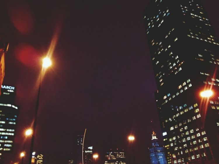 Warsaw Poland Centrum Stolica Night Night Shot Urban City My City