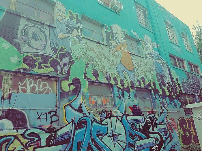 San Antonio Graffiti Art Artistic Photography Rapping Rappers