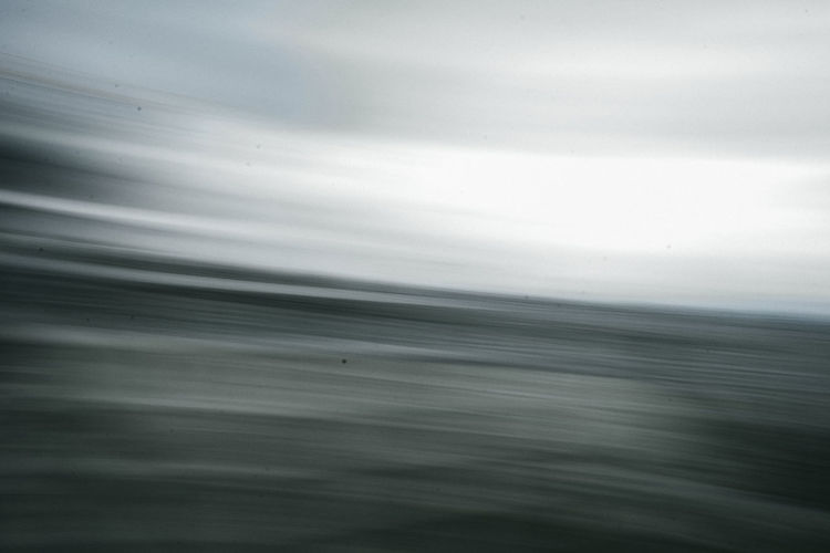 Close-up of sea against sky