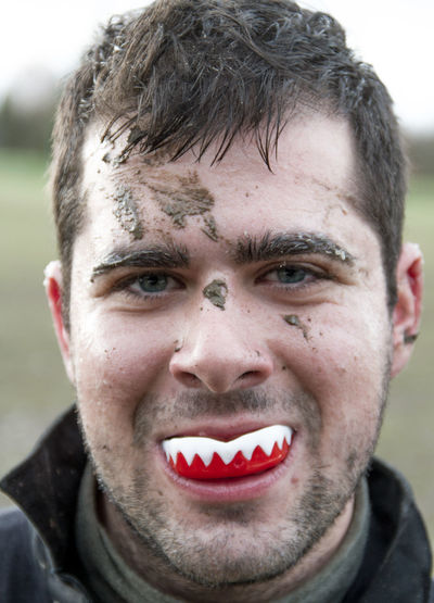 Close-up Composition Confidence  Front View Happiness Headshot Human Face Looking At Camera Mud Portrait RugbyIsLife Rugbyplayer Young Adult Young Men Colpetrazzo
