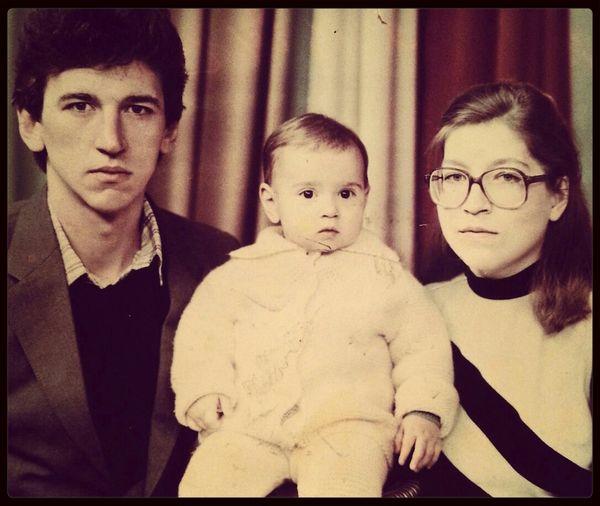 Единственная сохранившаяся семейная фотография.