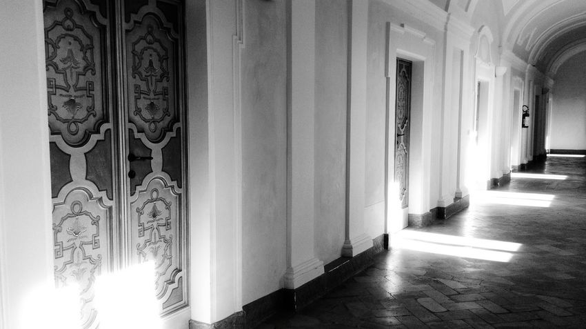 Montecosaro Municipal Building Historical Building Old Buildings Light And Shadow Building Architecture Built Structure My Point Of View Travel Destinations Archway Door Indoors  Built Structure Architecture No People Multi Colored Day Open Door