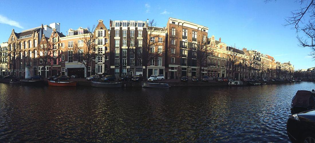 A Bird's Eye View Amsterdam Rutine Similarity Canals City Life