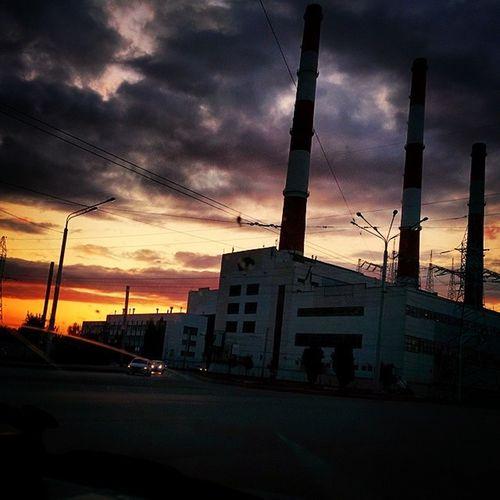 Завод- ТЭЦ. завод ТЭЦ трубы Factory Pipes EyeEm×WhiteWall: City Learn & Shoot: After Dark