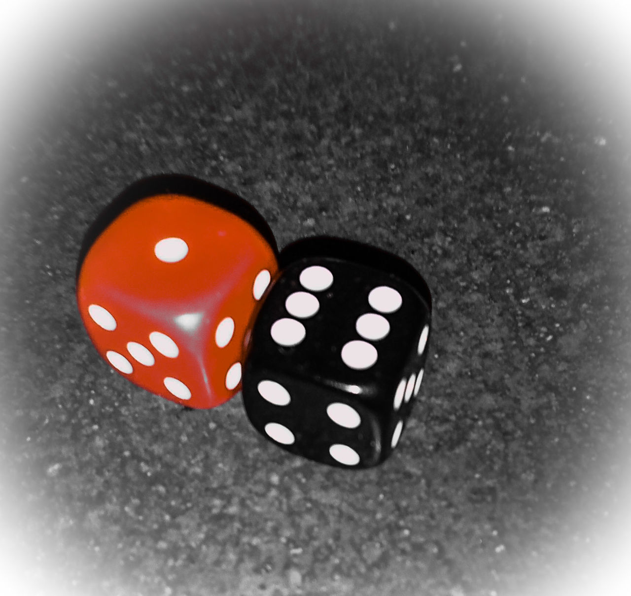 spotted, dice, polka dot, gambling, luck, close-up, indoors, no people, leisure games, pattern, black color, chance, day