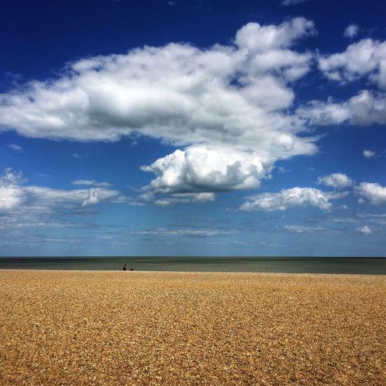Suffolk v Clouds And Sky Beach Shingle