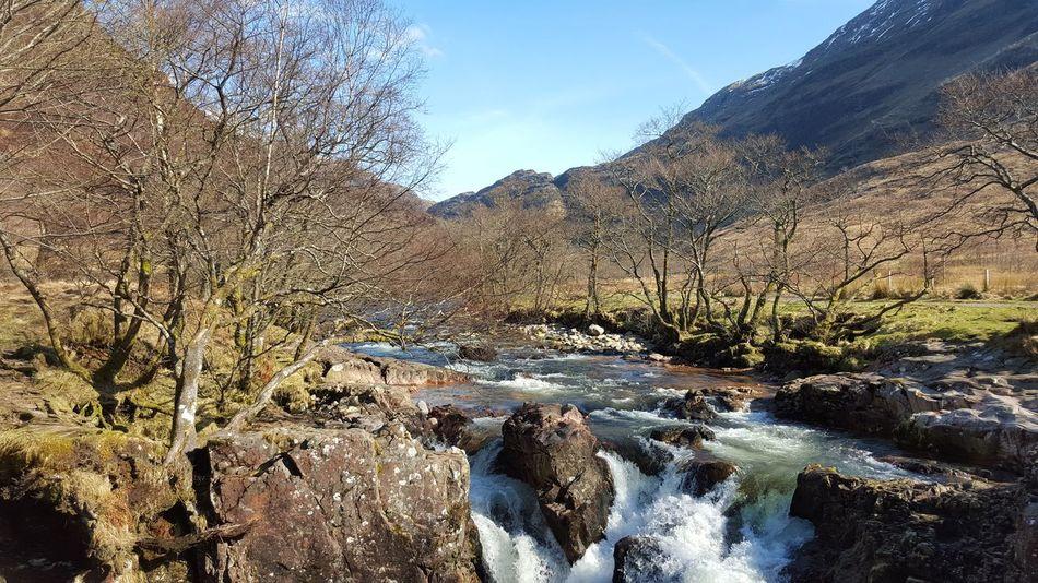 Szkocja Waterfall Scotland Wodospad Widok First Eyeem Photo