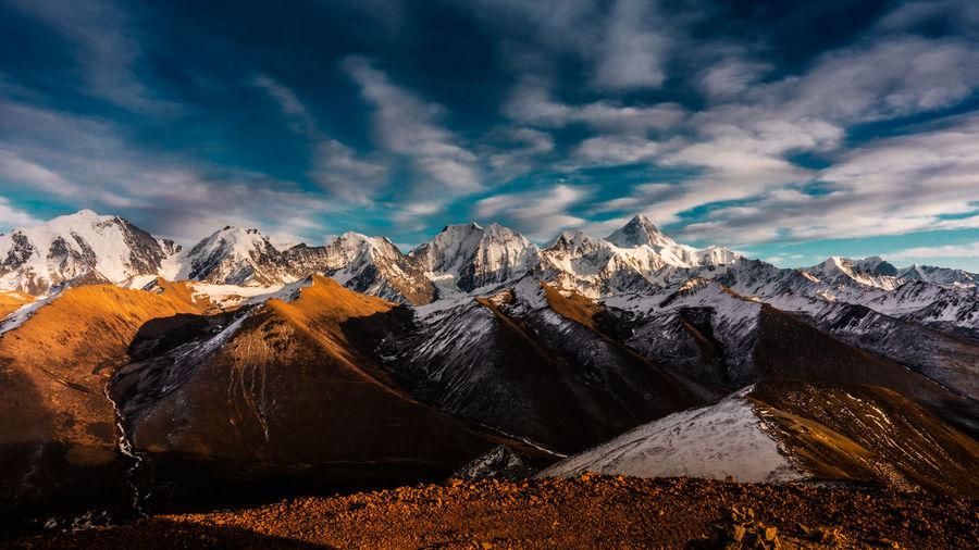 Wish you like it. Cloud - Sky Mountain Mountain Range Beauty In Nature Sky