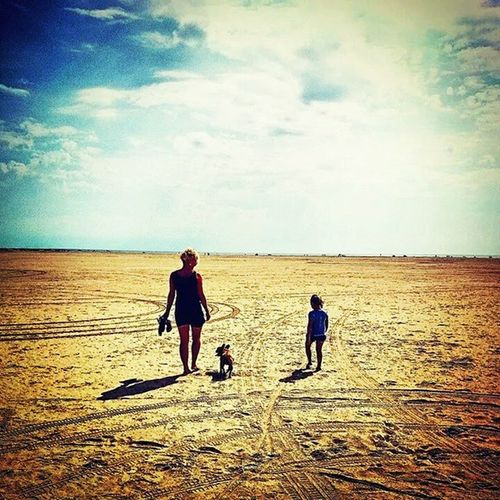 My one and only Girl, and her pretty daugther, and oure DOG! Family Beach Summer2014 Sexy Milf Fanoe Fanø Danishbeach SommeriDK Insta Followforfollw Vcacam Instacam Looking Foward To  Summer 2015  Franshbulldog Fb Bulldog bertalove Doglife Justapuppy Puppy
