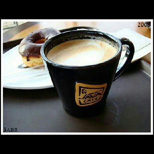 Java_cafeeh قهوة كابتشينو لاتيه دونات جافا كافيه كوب فخار ضد الكسر Coffee cappuccino latte donut Java Cafe cup Pottery against breakage